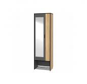 МП Ольга Лофт 3.1 шкаф 2-х створчатый 600 с зеркалом