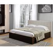 Кровать Баунти венге/искусственная кожа без основания