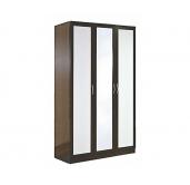МС Кэт шкаф 3-створчатый 1200 (кожа)