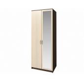 МС Ронда шкаф 2-створчатый с зеркалом 800