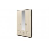 Ронда шкаф 3-створчатый с зеркалом 1200 для гостиниц