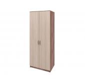 МС Ронда шкаф 2-створчатый 800 (ясень светлый/ясень темный)