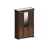 СГ Кантри шкаф 3-х дверный 1460 (орех рибек темный)