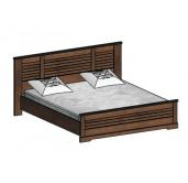 СГ Кантри кровать 1800 (орех рибек темный)