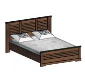 СГ Кантри кровать 1400 (орех рибек темный)