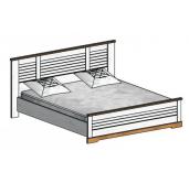 СГ Кантри кровать 1800 (сосна андерсен, орех рибек натуральный)