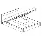 МС Мария-Луиза кровать с подъемным механизмом 1600