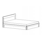 МС Мария-Луиза кровать 1400 каркас