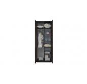 МС Волжанка шкаф комбинированный 800 (венге/крок коричневый)