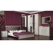 Спальня Габриэлла (вудлайн кремовый/сандал белый)