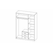 МС Фриз шкаф 1500
