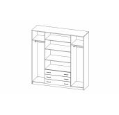 МС Фриз шкаф 2000