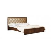 МС Габриэлла кровать с настилом 1600 (дуб кальяри/дуб коньяк)