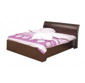 МС Мона кровать с подъемным механизмом 1600 (венге/крокодил коричневый)