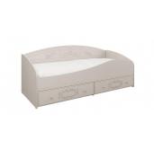 МД Каролина кровать с защитным бортом 800