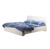 МС Мона кровать с подъемным механизмом 1400 (вудлайн кремовый/крокодил белый)
