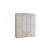 МС Каролина шкаф 4-х дверный с зеркалом 1802