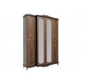 МС Кантри шкаф 4-х дверный 1660 (дуб кальяри/дуб филаделфия)