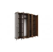 МС Кантри шкаф 5-и дверный 2060 (дуб кальяри/дуб филаделфия)