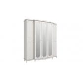 МС Кантри шкаф 5-и дверный 2060 (вудлайн кремовый/сандал белый)