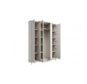МС Кантри шкаф 4-х дверный 1660 (вудлайн кремовый/сандал белый)