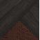 Венге-Венге-Кожзам глянец крокодил коричневый