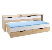 Кровать трансформер Буратино 3
