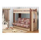 Кровать двухъярусная Немо с матрацем