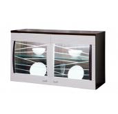 МГ Алабама навесной шкаф 1054 (венге/белый дым)