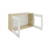 МГ Алабама навесной шкаф 1054 (дуб сонома/белый глянец)