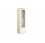МГ Алабама шкаф-пенал 06.110 правый (дуб сонома/белый глянец)