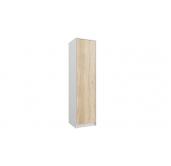 МГ Конти шкаф для одежды 500 (белый/дуб сонома)