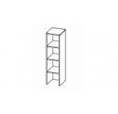МГ Конти шкаф-стеллаж 250 (белый)