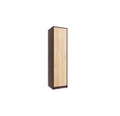 МГ Конти шкаф для одежды 500 (венге/дуб сонома)