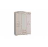 МГ Каролина шкаф 3-х дверный с зеркалом 1502
