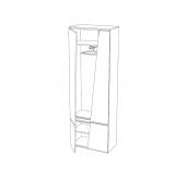 МГ Стреза шкаф для одежды 700